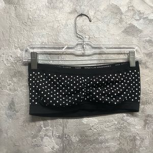 unbranded Intimates & Sleepwear - Size M/L Black and White Polka Dot Bandeau Top